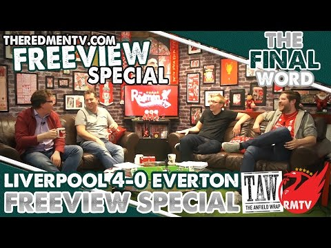 Liverpool 4-0 Everton | The Final Word with @TheAnfieldWrap