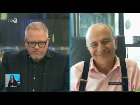 """רועי כץ בערוץ הכנסת מראיין את יוסי פריימן, מנכ""""ל פריקו ניהול סיכונים"""