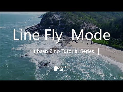 Hubsan Zino Tutorial Series Line Fly Mode