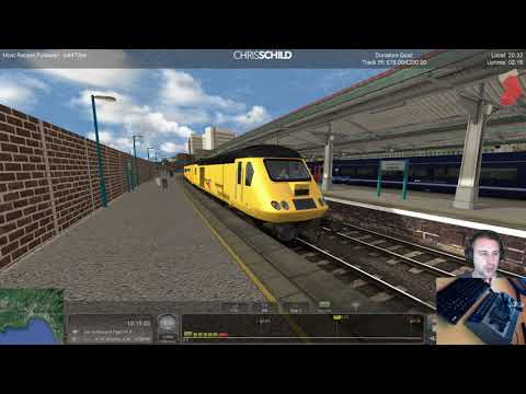 Network Rail's New Measurement Train, Class 117, Class 67 - Train Simulator 2018
