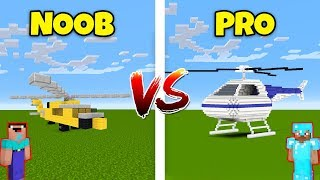 Minecraft NOOB vs. PRO: HELICOPTER in Minecraft! AVM SHORTS Animation