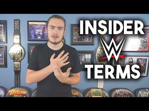 Insider WWE Terms Explained