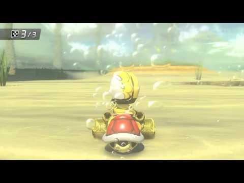 Mario Kart 8 Gold Kart #1