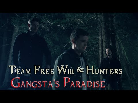 Dean, Sam and Castiel (hunters too) - Gangsta's Paradise (Instrumental and Coolio)