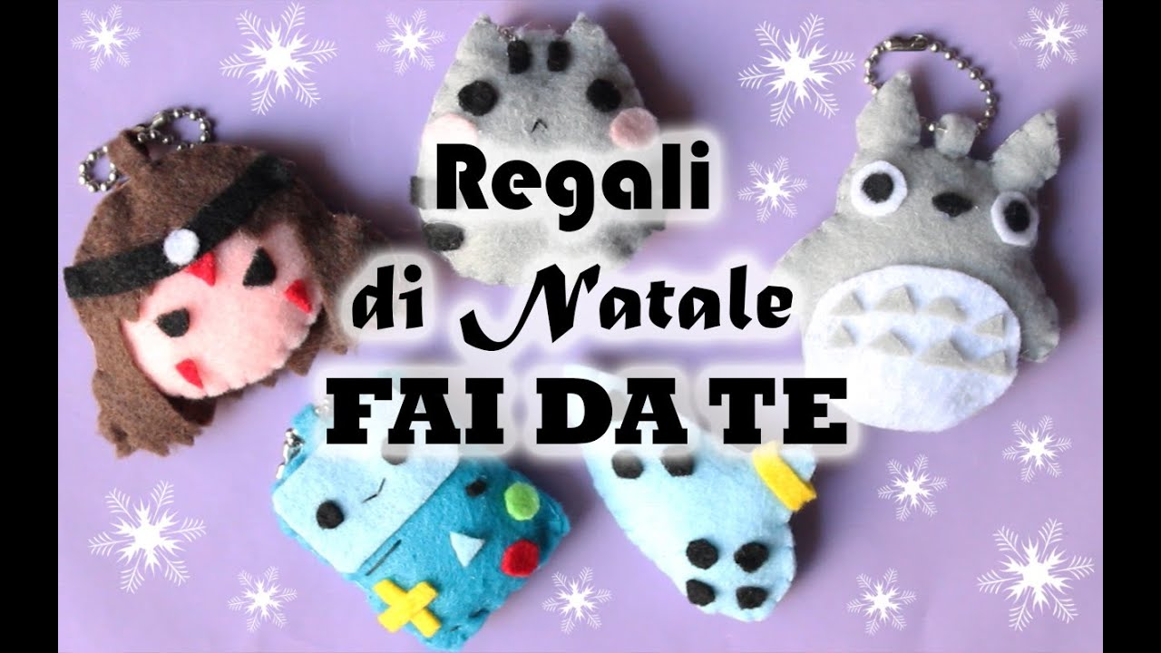 Regali di natale fai da te regalini di feltro youtube for Regali per