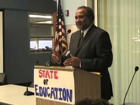 State of California Education - Keith Parker, UCLA Vice-Chancellor at Santa Monica Collge Teach-In