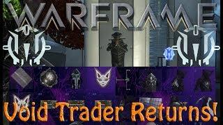 Warframe - Void Traders Returned! 105th Rotation