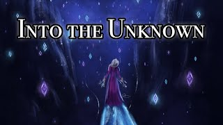 Into the Unknown Frozen 2 Cover