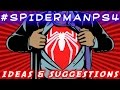 How Insomniac's Spider-Man Could Be The Best Superhero Game Ever // Ideas & Suggestions