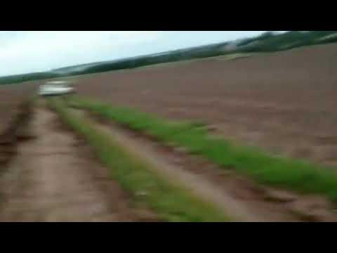 На дачу после дождя, поле,грязь, Рено Дастер АКПП.
