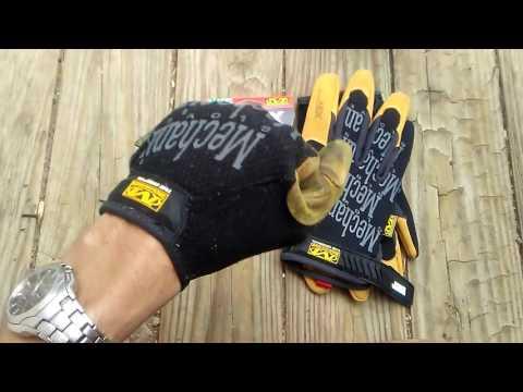 Review: Mechanix 4x Original work gloves