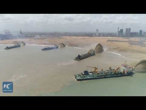"China-funded Colombo Port City to be transformed into ""Shining Pearl on Indian Ocean"""
