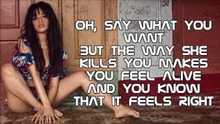 Camila Cabello ~ She Loves Control ~ Lyrics (+Audio)