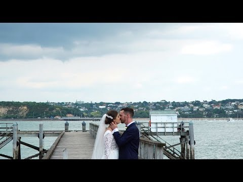 Ash + Cam // Davenport Wedding Video Auckland