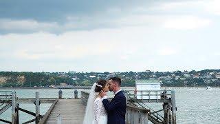 Ash + Cam // Davenport Wedding Auckland
