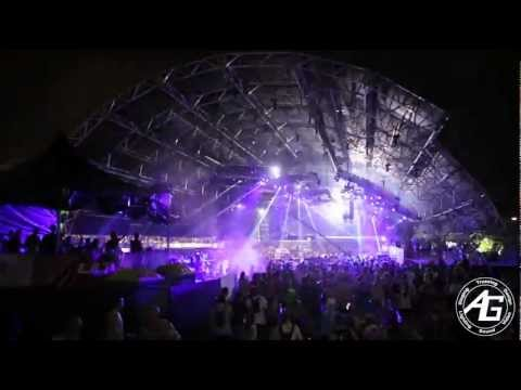 AG Lights & Sound - Mega Structure - Ultra Music Festival 2013 - Video