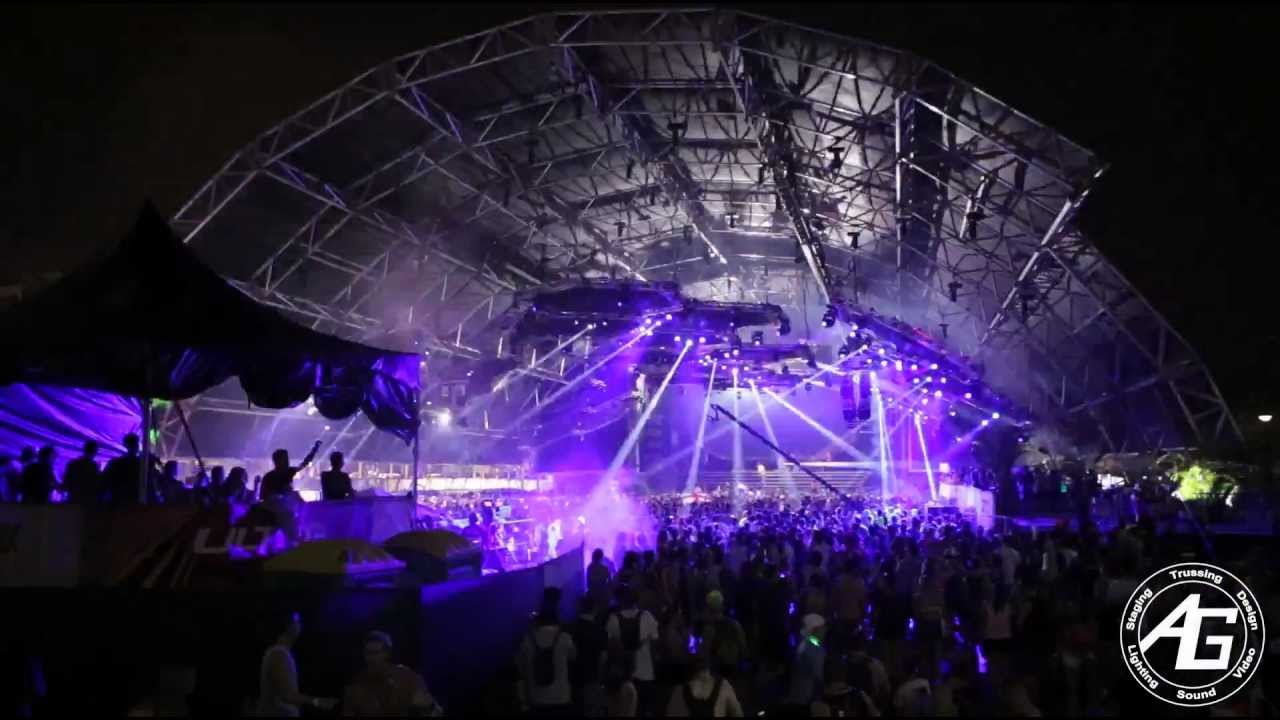 AG Lights & Sound - Mega Structure - Ultra Music Festival ...