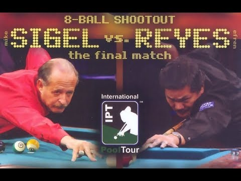 Efren Reyes Vs Mike Sigel   The Final Match   8 Ball