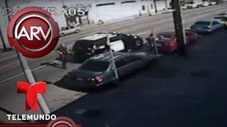 Policías disparan a una mujer con problemas mentales | Al Rojo Vivo | Telemundo
