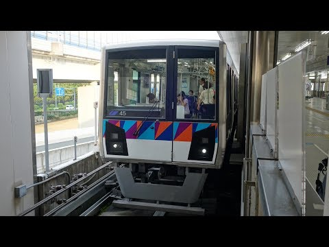 【FHD】金沢シーサイドライン 前面展望(新杉田→金沢八景)(Scenery Movie of Kanazawa Seaside Line)