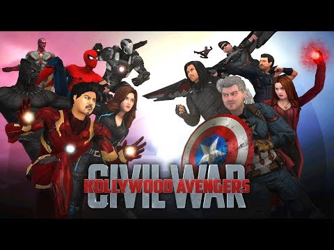 Kollywood Avengers - Civil War - Airport Battle Scene