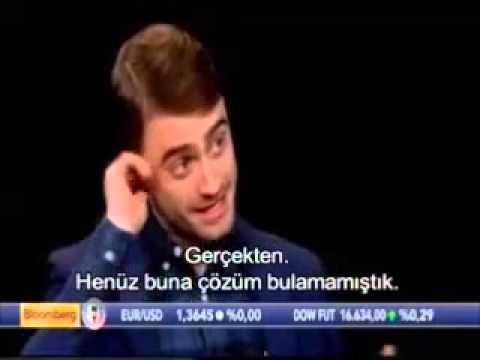 Daniel Radcliffe Charlie Rose Show'da Türkçe Altyazılı