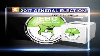 19 candidates line up for presidency in August polls