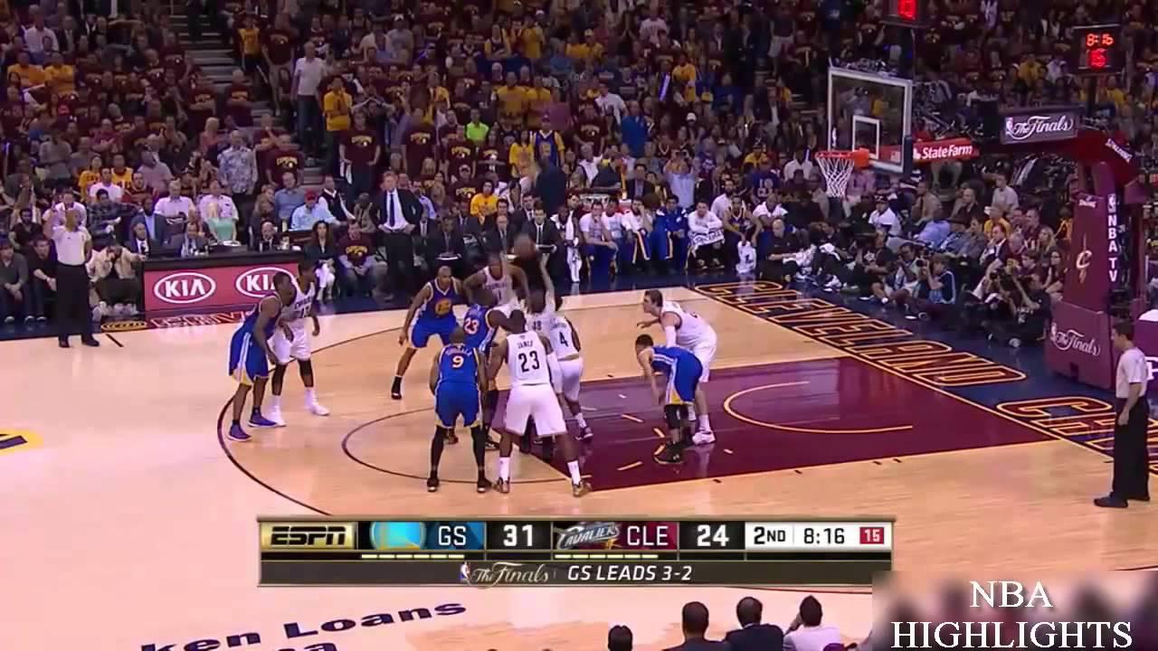 Golden State Warriors vs Cleveland Cavaliers   1st HALF Highlights   Game 6   June 16   NBA ...