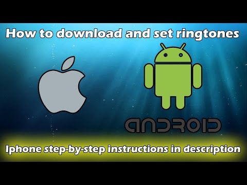 How to download and set/install ringtones off of Zedge (Android & Apple)