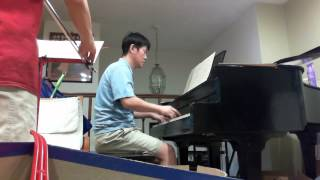 Silver threads among the gold--Violin-piano (father-son) duet