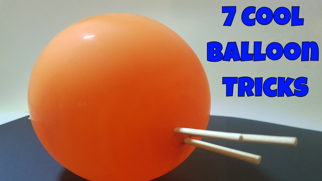 7 cool things to do with balloons life hacks and cool for Cool things to do with balloons