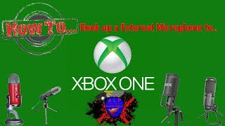 How to Hook up a External Microphone to Xbox one
