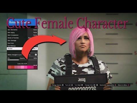 gta online female character presets