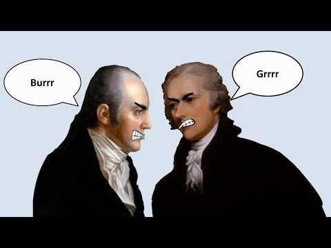 Battle Stack: Hamilton Vs Burr Duel