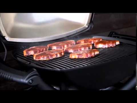 Weber Elektrogrill Q 1400 Vs 2400 : Weber q youtube