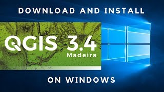 Gambar cover Download and Install QGIS 3.4 On Windows 10