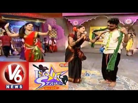 Telangana Special Folk Songs || Folk Star Dhoom Thadaka 15 || V6 News
