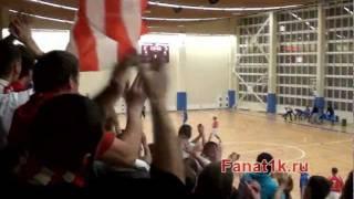 Шиза на матче ФЗК Спартак vs МФК МАИ (+ драка)
