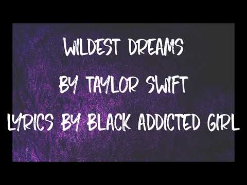 Wildest Dreams  Taylor Swift Lyrics