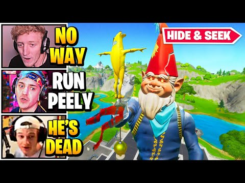 Streamers Host *SWEATIEST* HIDE AND SEEK Game   Fortnite Daily Funny Moments Ep.583