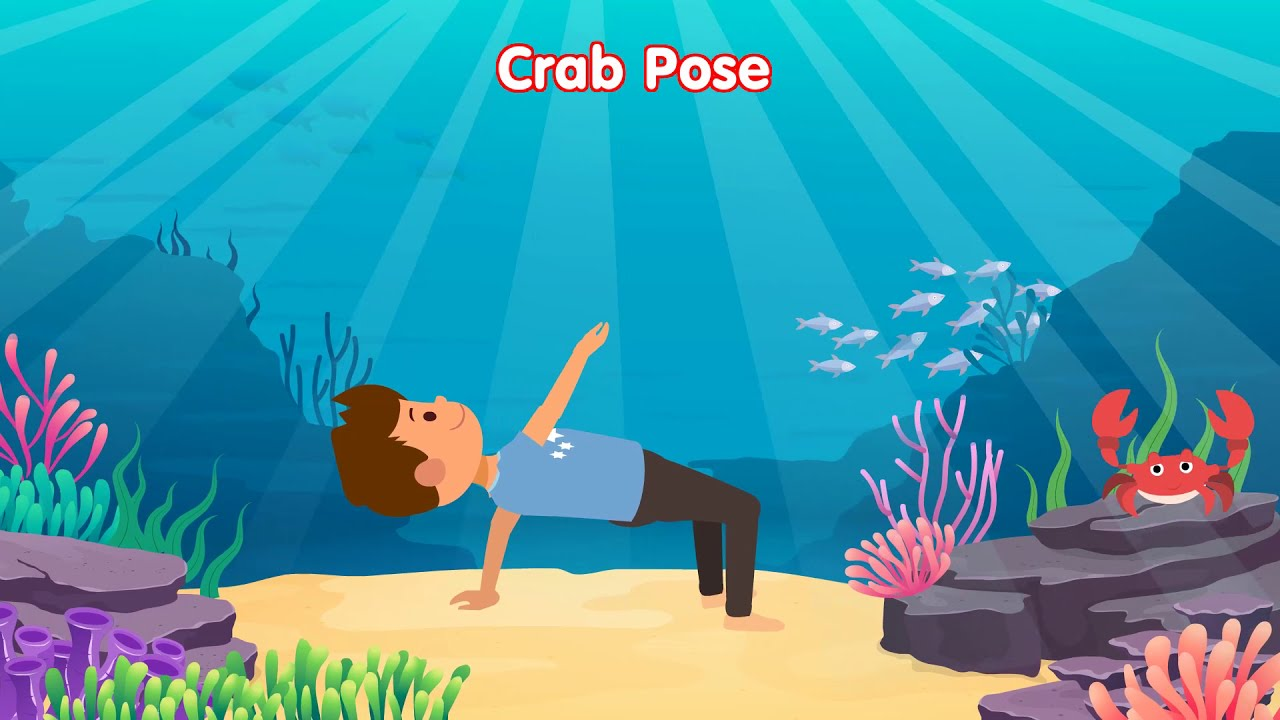 """Kids Yoga Adventure with Bari: """"Down by the Ocean"""""""