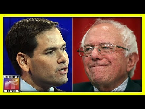 Bernie Gets THE WORST NEWS When Marco Rubio Turns To The Camera And Says THIS