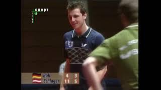 Table tennis Saabrucken 2003 Timo Boll - Werner Schlager