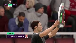 Арсенал Брайтон 5 12 2019 Англия Премьер лига