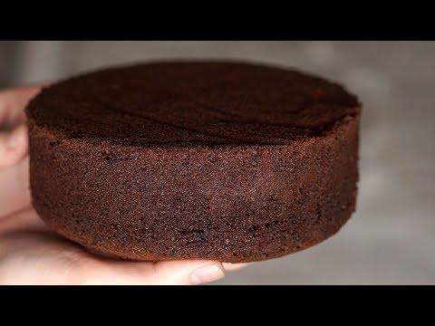 Шифоновый бисквит шоколадный в мультиварке