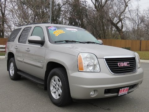 2007 gmc yukon used cars chico ca orland sacramento. Black Bedroom Furniture Sets. Home Design Ideas