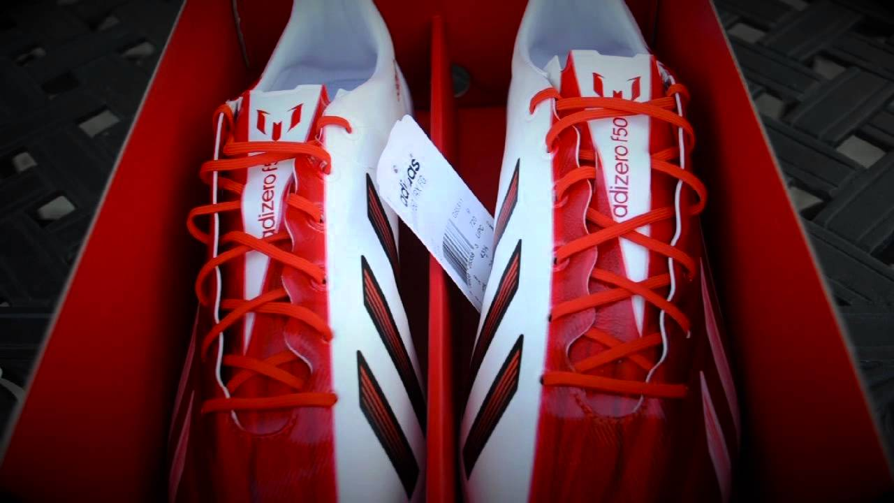 the best attitude 7ed58 36c0a Adidas F50 adizero miCoach 2 Synthetic Messi Colorway- Unboxing