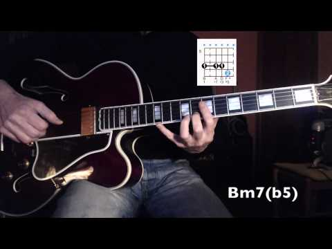 Jazz Guitar - Once I Loved (A.C. Jobim) - harmonized melody - slow chords