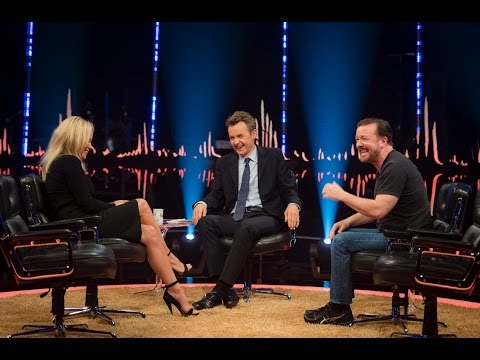 Ricky Gervais makes fun of Pamela Anderson stalker