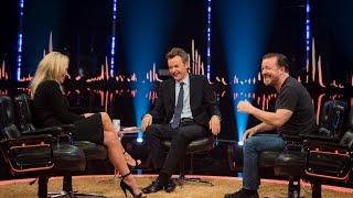 Ricky Gervais makes fun of Pamela Anderson stalker | SVT/NRK/Skavlan